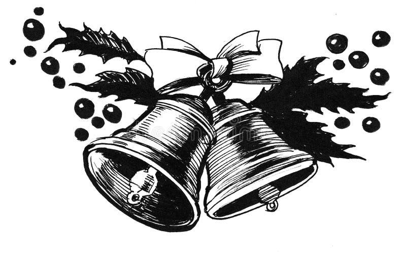 są święta dzwonów ilustracji wektora ilustracji