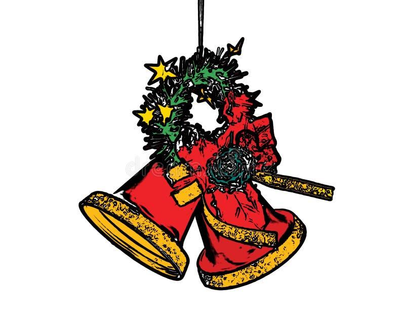 są święta dzwonów ilustracji wektora royalty ilustracja