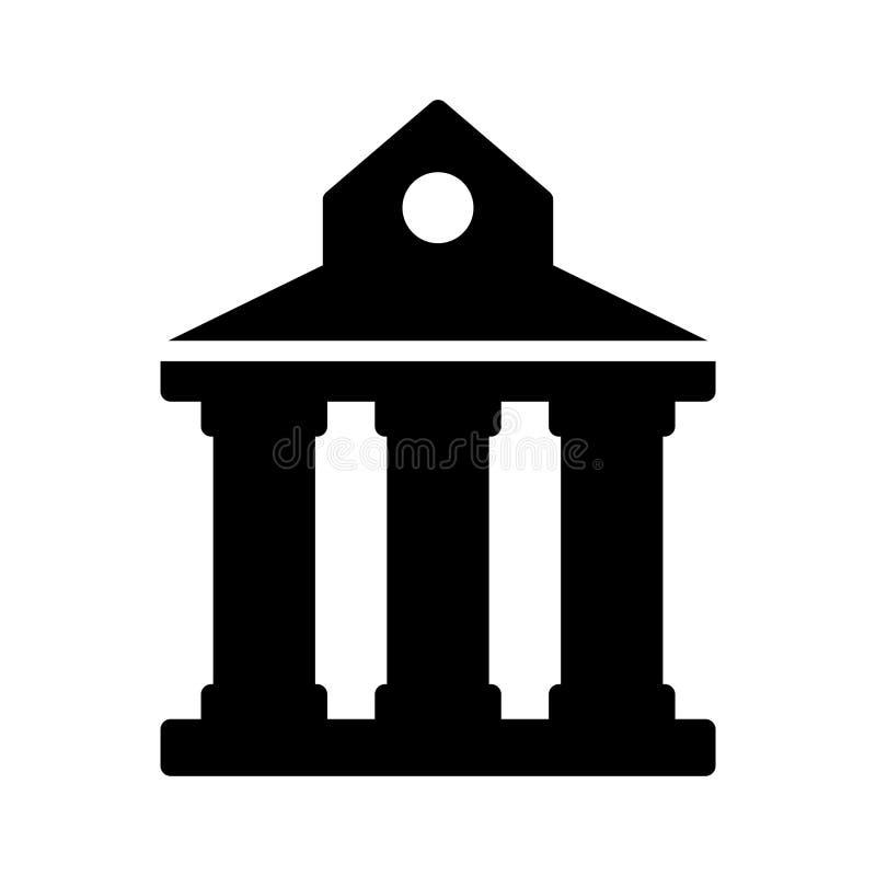 Sąd linii linii wektoru cienka ikona ilustracja wektor