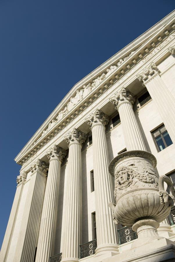 sąd najwyższy fasadowy nas wschodni zdjęcia royalty free