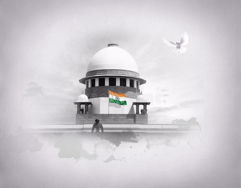 Sąd Najwyższy India zdjęcia stock