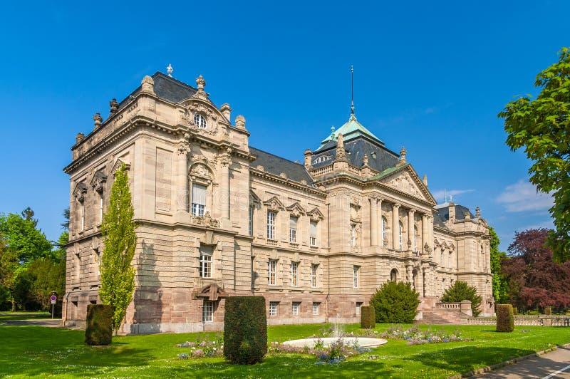 Sąd prośba Colmar, Alsace, Francja zdjęcie royalty free