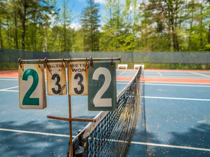 sąd tenis zewnętrznego zdjęcia stock