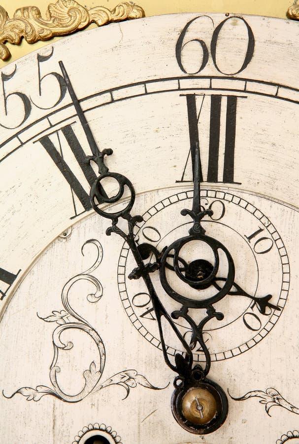 sądny dzień zegara fotografia royalty free