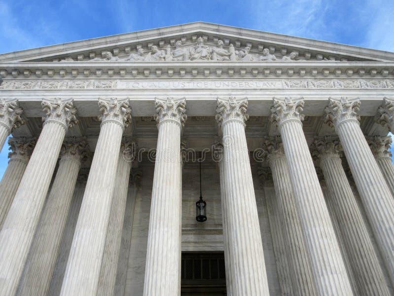 Sądu Najwyższy punkt zwrotny przy zmierzchem zdjęcia royalty free