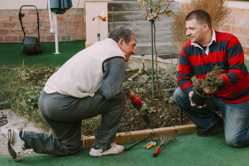 Sąsiad, starszy mężczyzna obrazy stock