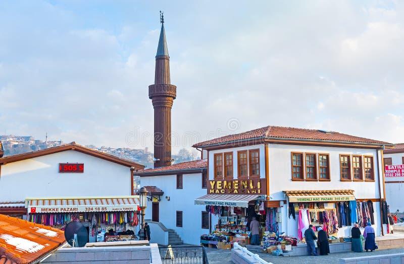 Sąsiedztwa Ankara zdjęcia royalty free