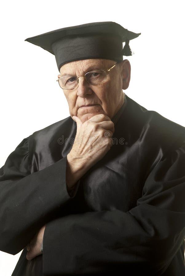 sędziego senior zdjęcie royalty free