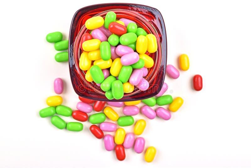Słój cukierki obrazy royalty free