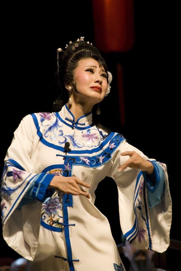sławna aktorka Syczuan opery zdjęcia stock