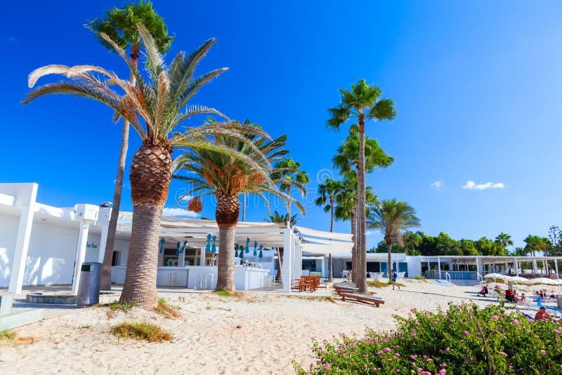 Sławna Nissi plaża zdjęcie stock