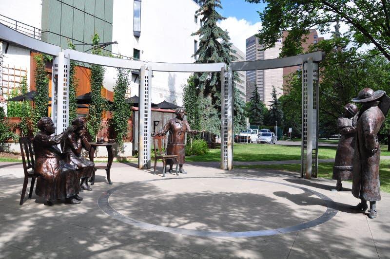 sławna statua pięć obraz stock