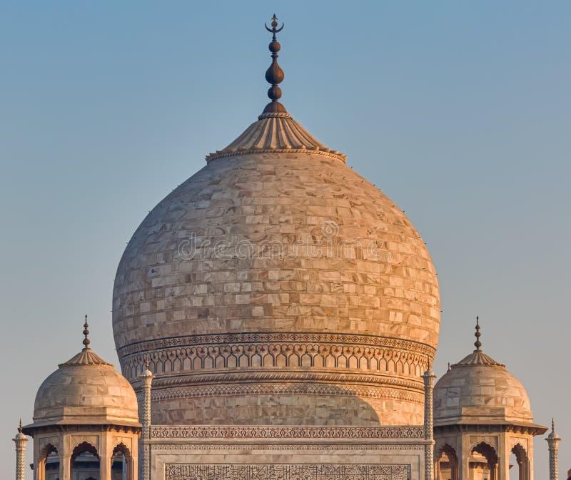 Sławna Taj Mahal kopuła, India zdjęcia stock
