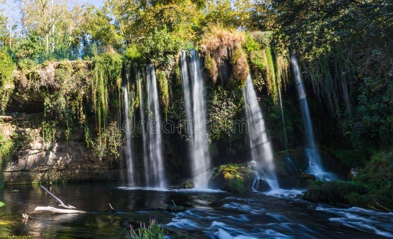 Sławne Kursunlu siklawy w Antalya Turcja obrazy stock