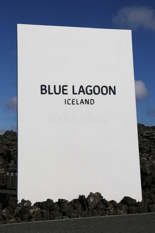Sławnej Błękitnej laguny Geotermiczny zdrój w Iceland fotografia royalty free
