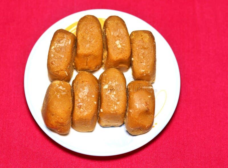 Sławni Peda cukierki Mathura fotografia stock