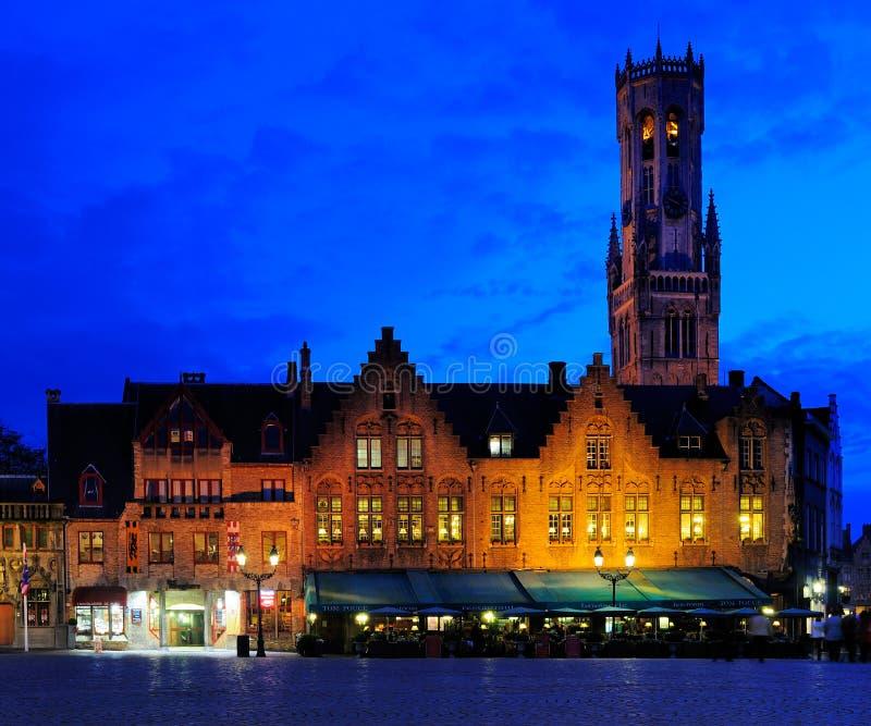 Burg, Bruges, Belgia obrazy royalty free