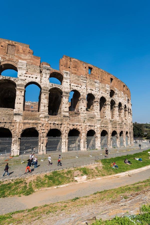 Sławny colosseum obrazy stock