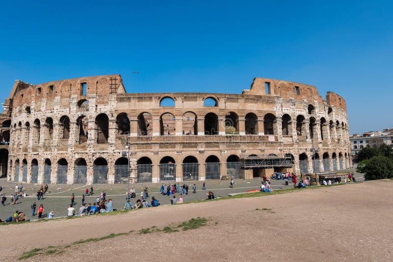 Sławny colosseum fotografia royalty free