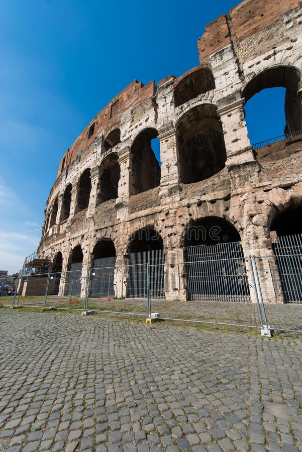 Sławny colosseum fotografia stock