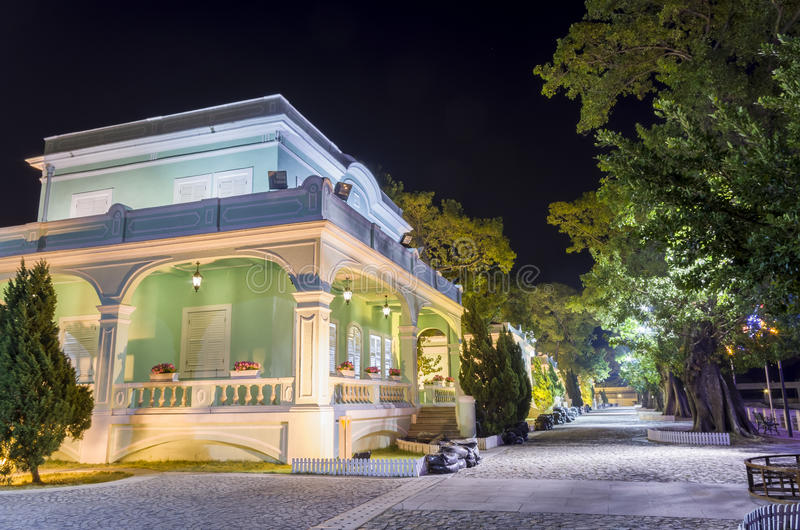 Sławny dziedzictwo - Taipa Mieści muzeum zdjęcie stock
