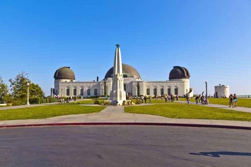 Sławny Griffith obserwatorium w Los Angeles obrazy stock