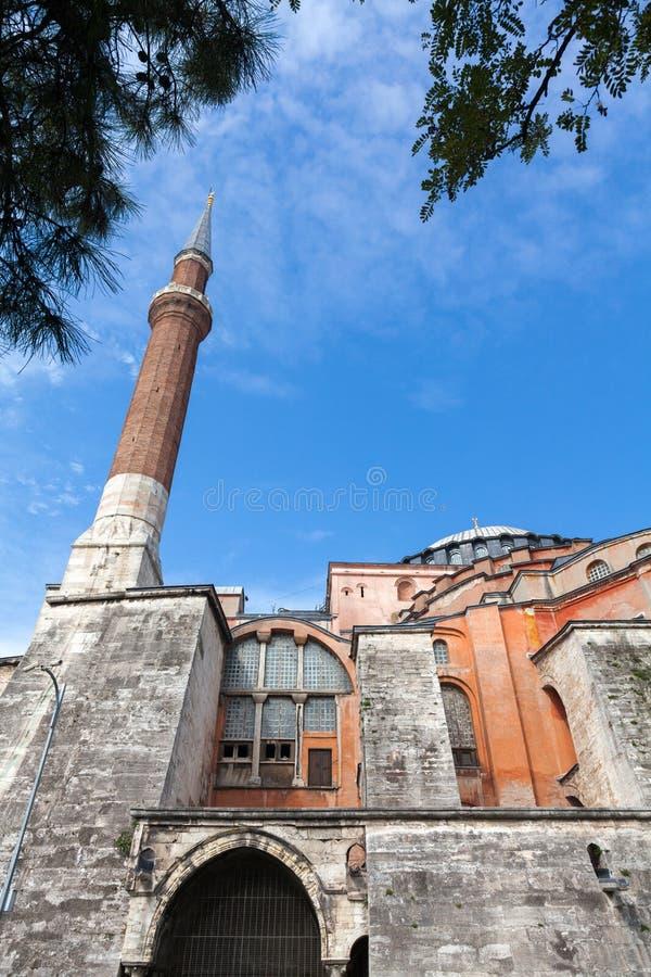 sławny hagia sophia Istanbul zdjęcia royalty free