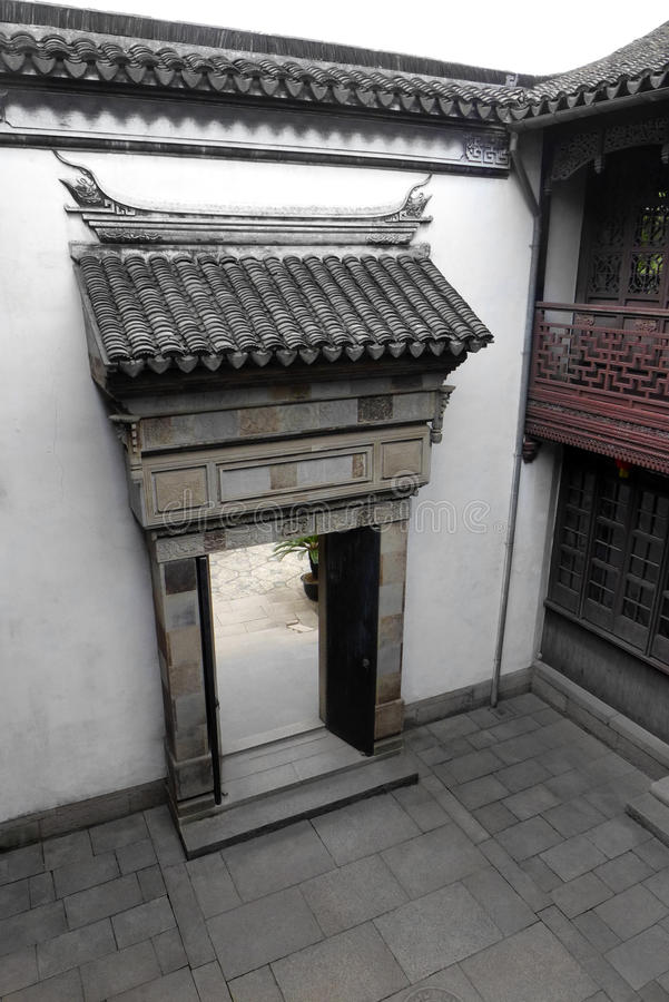 Sławny Historyczny dom, Ming dynastia Chiny zdjęcie stock