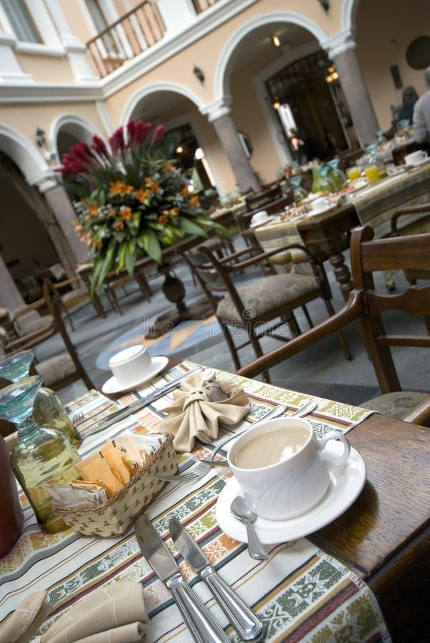 sławny hotel do kawy zdjęcia royalty free