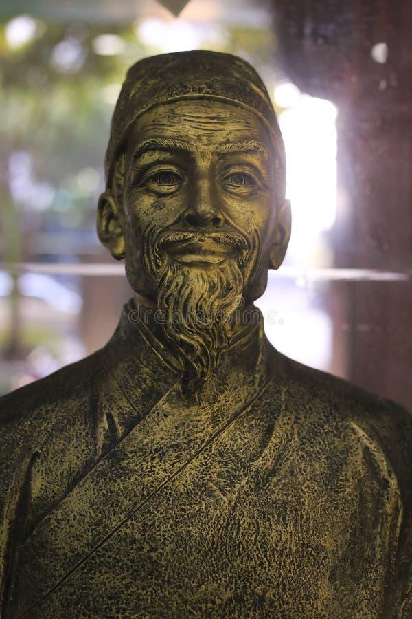 sławny medycyna lekarzów praktykujących li shizhen obraz royalty free