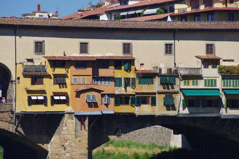 Sławny most w Florencja obrazy stock