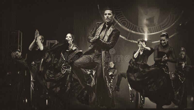 sławny nowożytnego bankieta taniec obraz royalty free