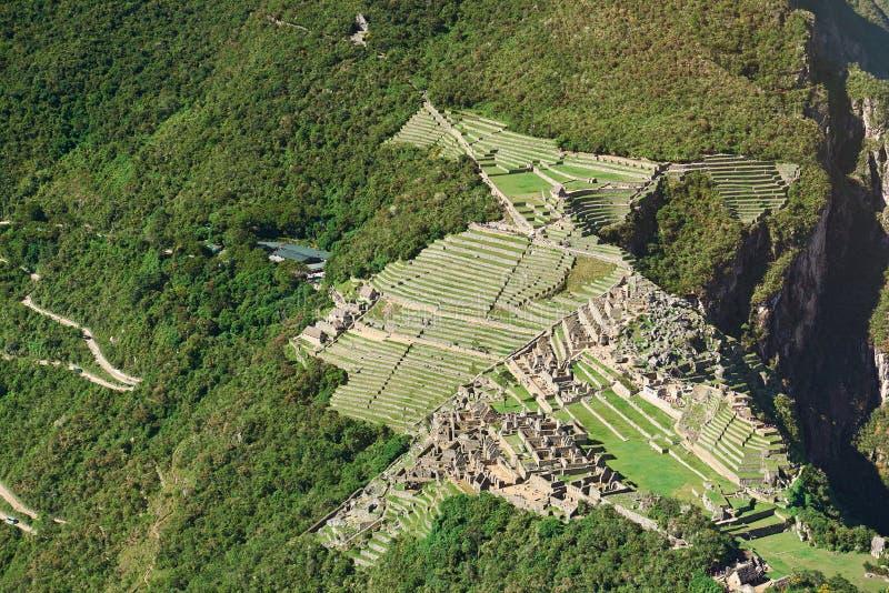 Sławny peruvian dziedzictwa miasto fotografia royalty free