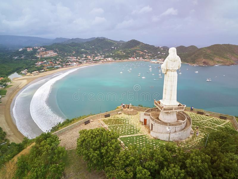 Sławny podróży miejsce w Nikaragua zdjęcia stock