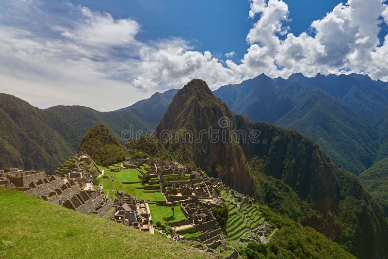 Sławny turystyczny miejsce w Peru fotografia royalty free