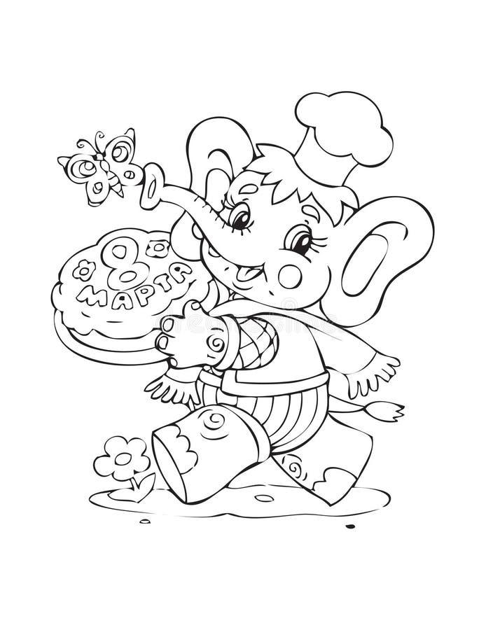 słoń ilustracja wektor