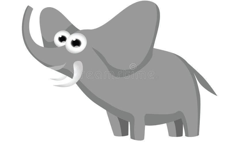 słoń komiks ilustracja wektor