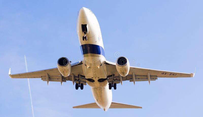 Słońca Dor linii lotniczych płaski lądowanie obraz stock