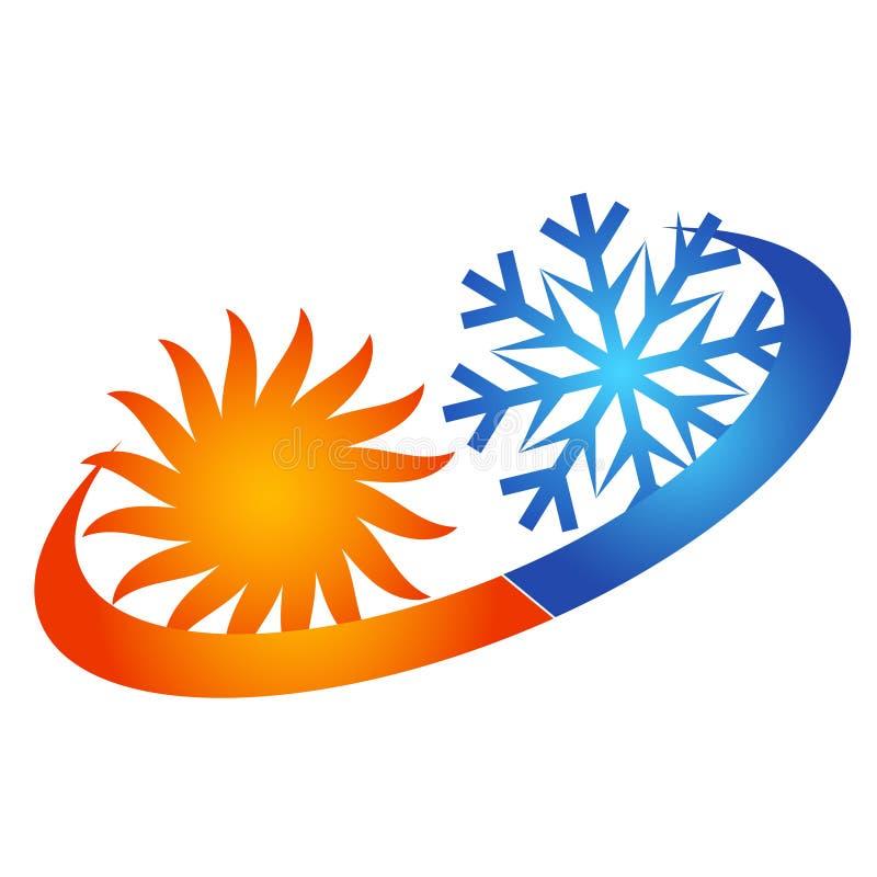 Słońca i płatka śniegu lotniczy uwarunkowywać royalty ilustracja
