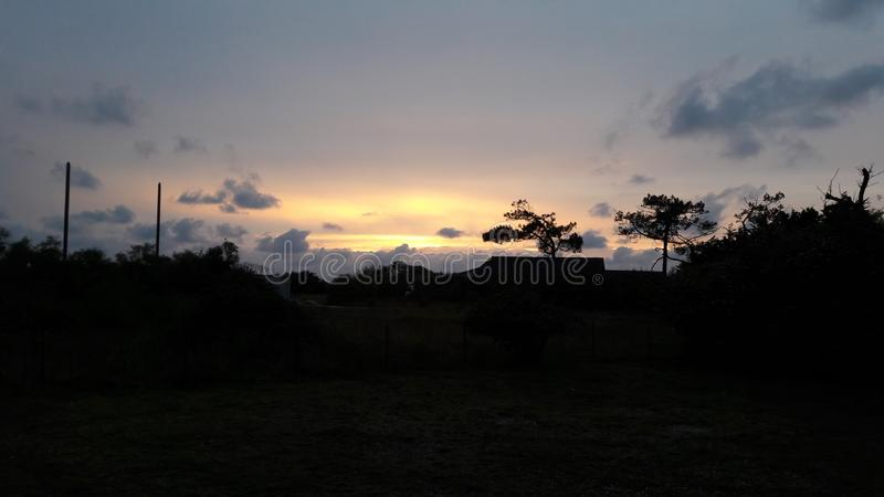 Słońca położenie obraz royalty free