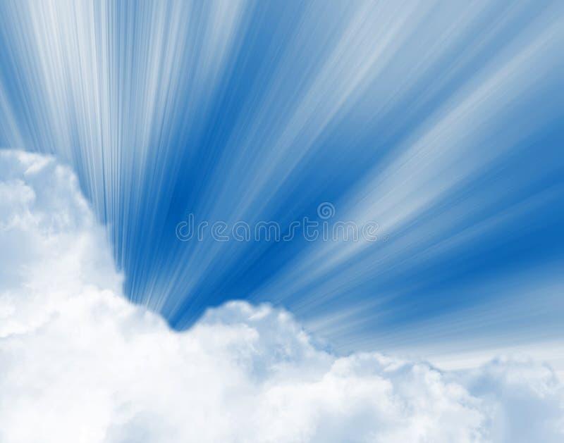 słońce świateł mijania ilustracja wektor