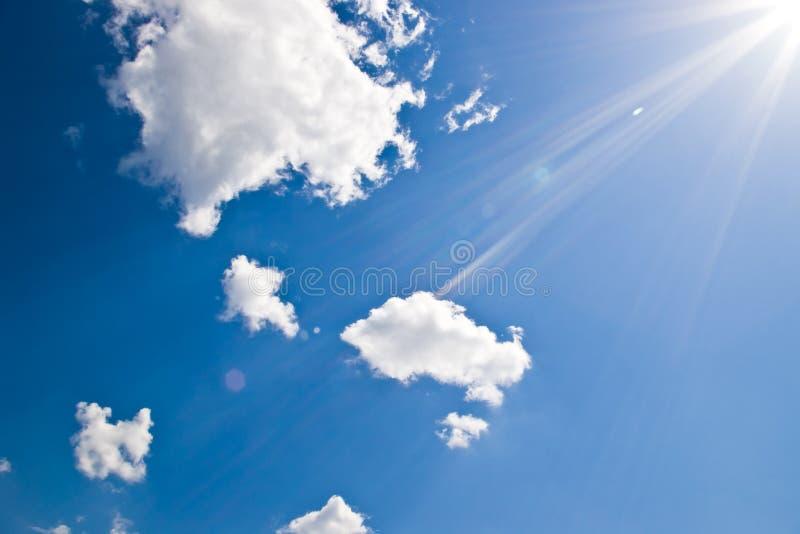 słońce świateł mijania fotografia stock