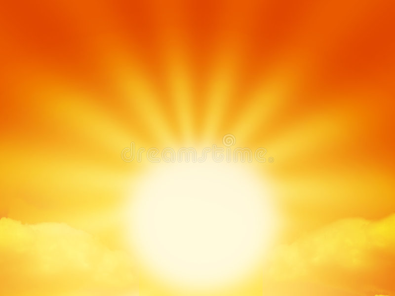 słońce zdjęcia stock