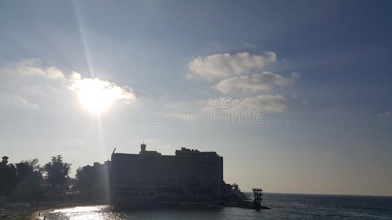 słońce fotografia royalty free