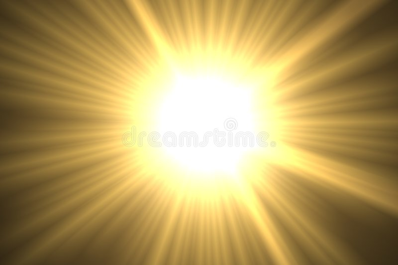 słońce ilustracji