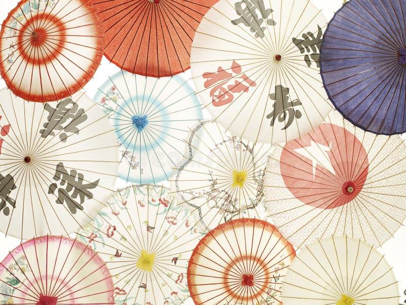 słońce azjatykci parasole zdjęcia stock