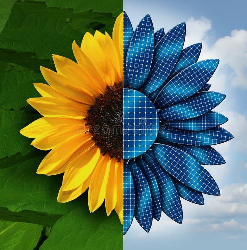 Słońce energia ilustracji
