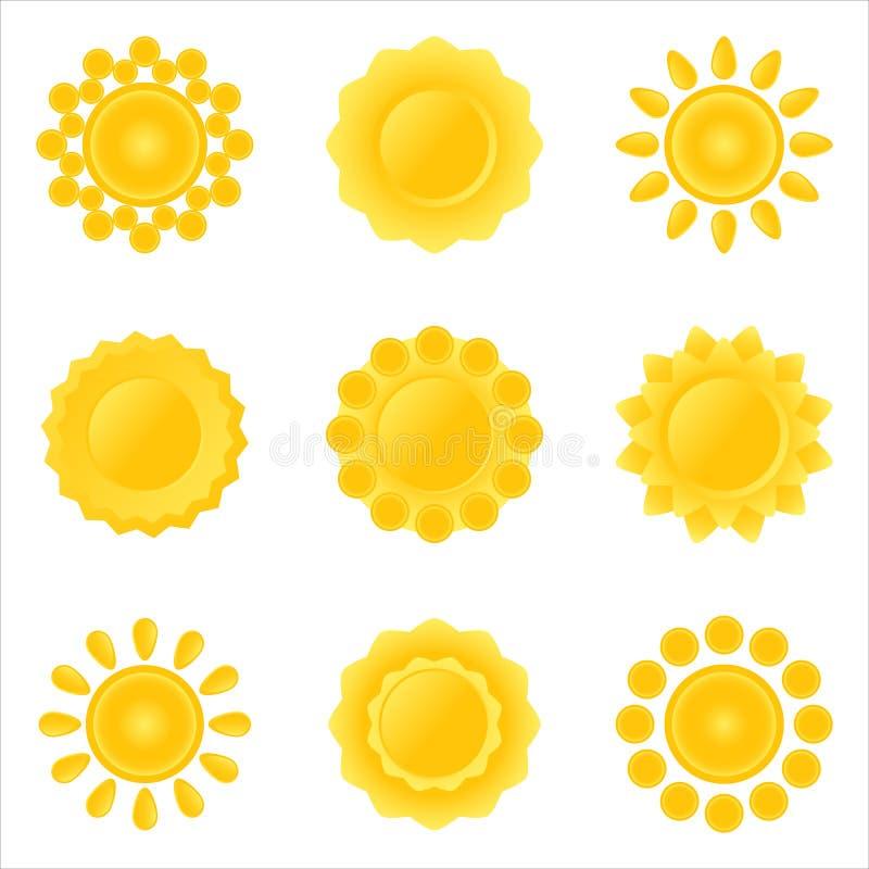 słońce epste ikony