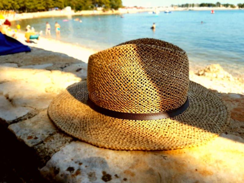 Słońce iść na kapeluszu fotografia stock