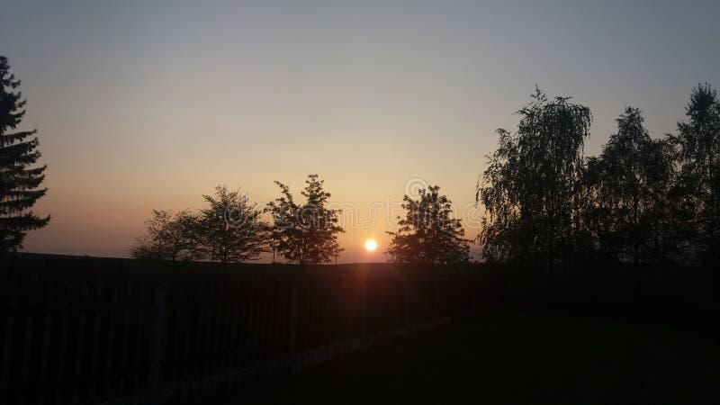 Słońce od nieba zdjęcie stock